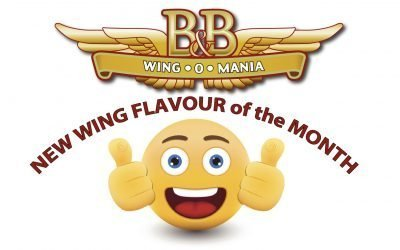 NEW WING FLAVOUR of the MONTH